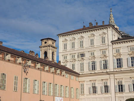 Palazzo Reale The Royal Palace in Turin Italy