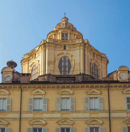 lorenzo: The church of San Lorenzo Turin Italy