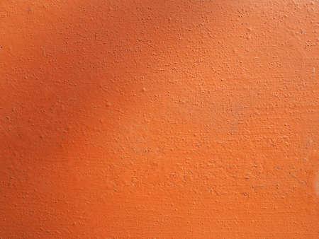 plaster wall: Yeso naranja textura de la pared �til como fondo