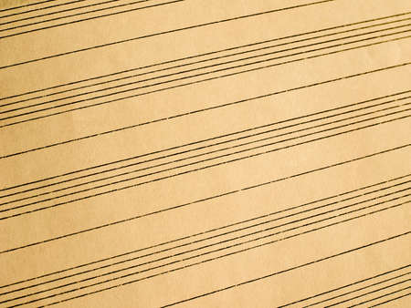 notation: Blank ruled score for writing music
