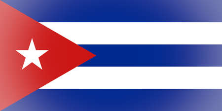 vignetted: Vignetted Cuban flag of Cuba