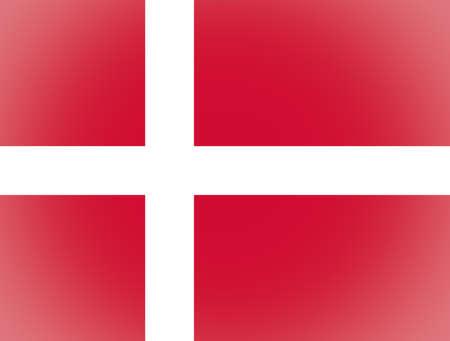 vignetted: Vignetted Danish flag of Denmark