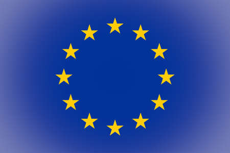 vignetted: Vignetted flag of the European Union