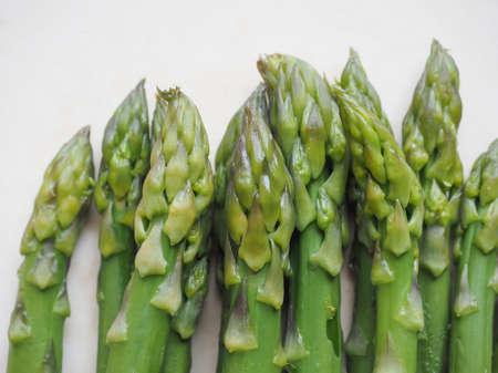 officinalis: Detail of Asparagus officinalis vegetables