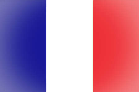 vignetted: Vignetted French flag of France Stock Photo