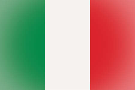 vignetted: Vignetted Italian flag of Italy Stock Photo