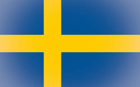 the swedish flag: Vignetted Swedish flag of Sweden