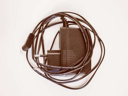 cc: Vintage looking Electrical transformer from high tension AC current to low tension CC current