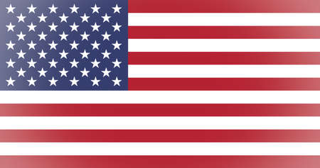 vignetted: Vignetted American flag of the United States of America Stock Photo