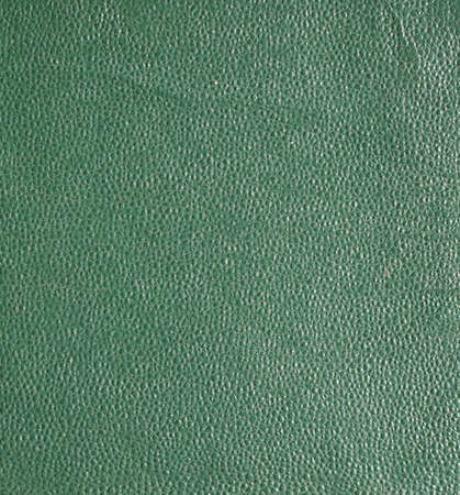 leatherette: Green leatherette texture useful as a background Stock Photo