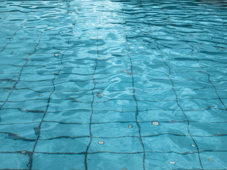 Hintergrund: Water surface texture useful as a background - cool cold tone Stock Photo