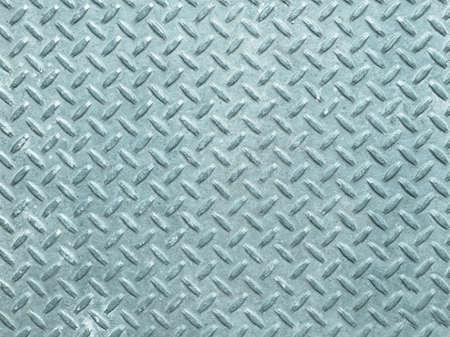 steel sheet: Diamond steel metal sheet useful as background - cool cold tone Stock Photo