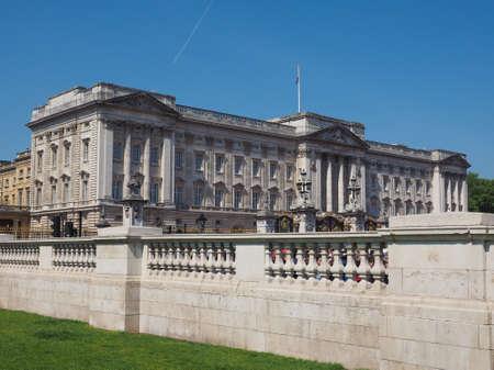 buckingham palace: LONDON, UK - JUNE 11, 2015: Buckingham Palace
