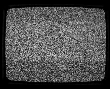 flickering: Flickering screen in a detuned TV useful as a background