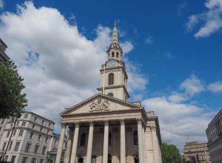 trafalgar: Church of Saint Martin in the Fields in Trafalgar Square