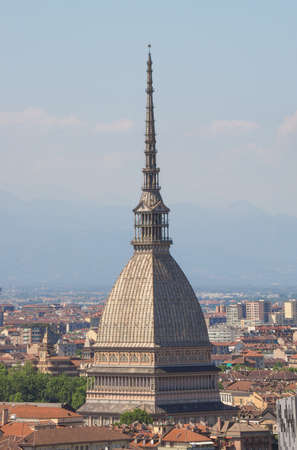 The Mole Antonelliana in Turin, Italy