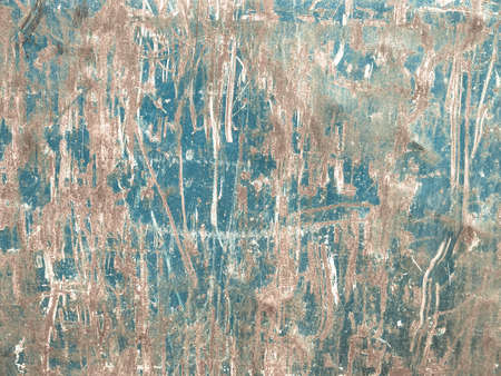 cold background: Rusted steel sheet useful as a background - cool cold tone Stock Photo