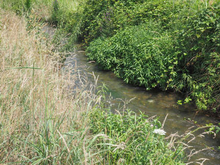 rivulet: Water rivulet for fields and meadows irrigation
