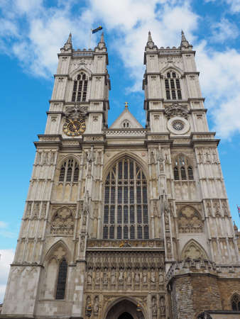 westminster: Westminster Abbey church in London, UK