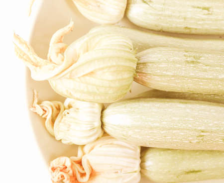 zucchini vegetable: Vintage looking Detail of courgettes or zucchini vegetable food