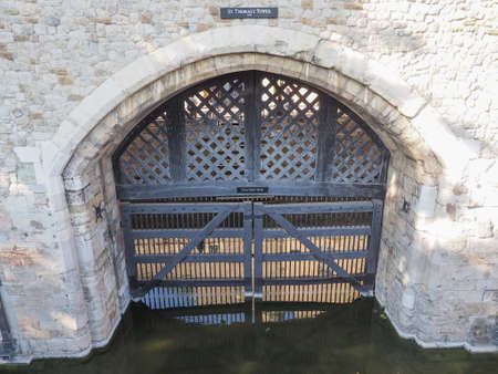 dungeons: Traitors Gate at the Tower of London