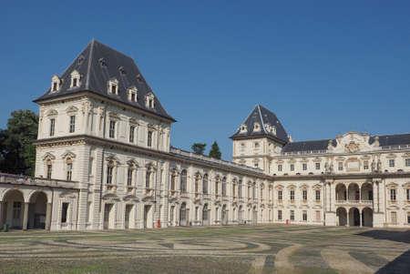 castello: Castello del Valentino baroque castle in Turin, Italy