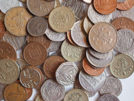 pound coins: Pound coins  currency of the United Kingdom