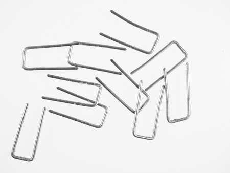 staples: Metallic staples for wood work