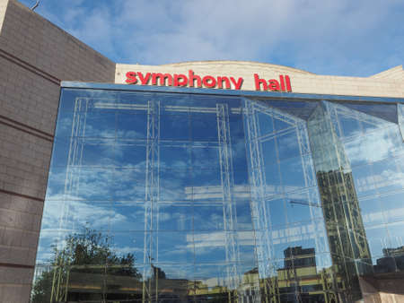 birmingham: BIRMINGHAM, UK - SEPTEMBER 25, 2015: The new Symphony Hall