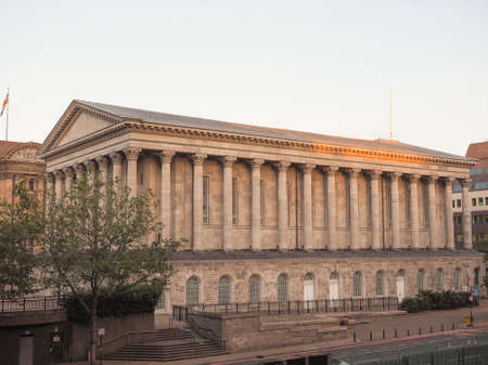 venue: Town Hall concert venue in Birmingham, UK