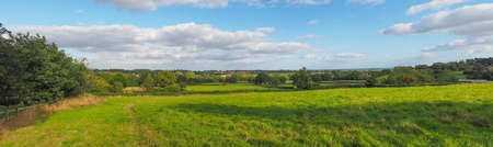 arden: English countryside landscape in Tanworth in Arden Warwickshire England UK - High resolution wide panorama
