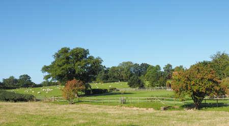 warwickshire: English countryside in Tanworth in Arden Warwickshire, UK