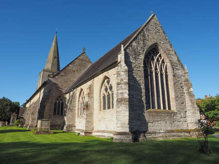 country church: Parish Church of St Mary Magdalene in Tanworth in Arden, UK
