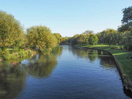 stratford upon avon: River Avon in Stratford upon Avon, UK