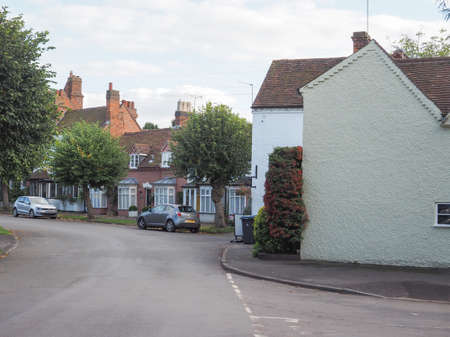 arden: TANWORTH IN ARDEN, UK - SEPTEMBER 25, 2015: The Village Green Editorial