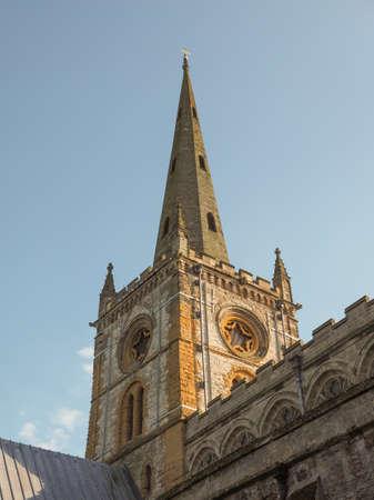 holy trinity: Holy Trinity church in Stratford upon Avon, UK