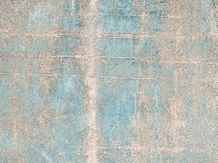 rusted background: Rusted steel sheet useful as a background - cool cold tone Stock Photo