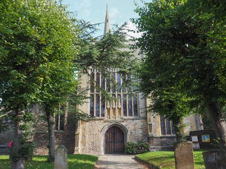 avon: Holy Trinity church in Stratford upon Avon, UK