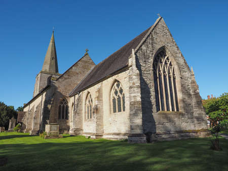 st nick: Parish Church of St Mary Magdalene in Tanworth in Arden, UK
