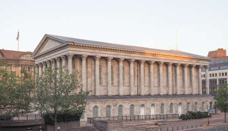 birmingham: Town Hall concert venue in Birmingham, UK