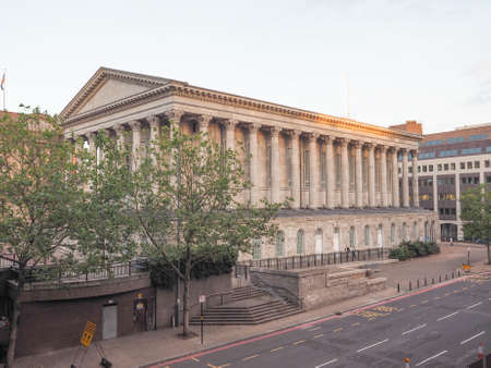 venue: Town Hall concert venue in Birmingham, UK