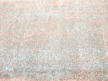 corten: Rusted steel sheet useful as a background - cool cold tone Stock Photo