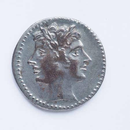 roman empire: Ancient Roman coin from the Roman Empire
