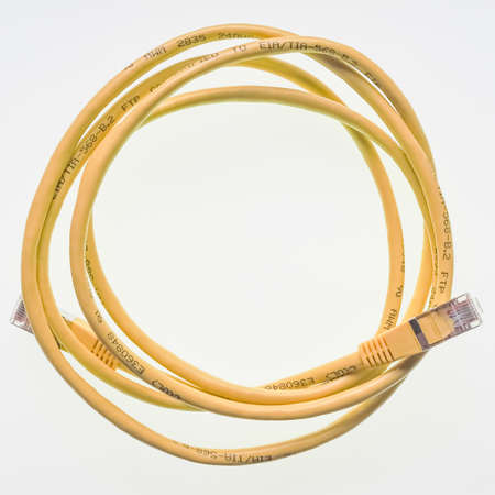 lan connection: cable for LAN local area network connection