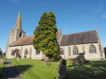 saint nick: Parish Church of St Mary Magdalene in Tanworth in Arden, UK