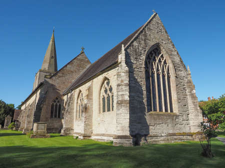 arden: Parish Church of St Mary Magdalene in Tanworth in Arden, UK