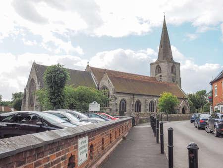 arden: TANWORTH IN ARDEN, UK - SEPTEMBER 25, 2015: Parish Church of St Mary Magdalene Editorial