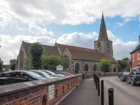 st nick: TANWORTH IN ARDEN, UK - SEPTEMBER 25, 2015: Parish Church of St Mary Magdalene Editorial