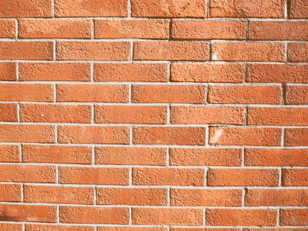 bricks background: Vintage looking Detail of wall of red bricks background Stock Photo