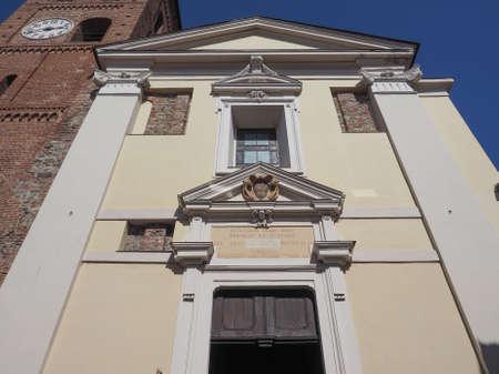 santa maria: Church of Santa Maria di Pulcherada in San Mauro, Italy Stock Photo
